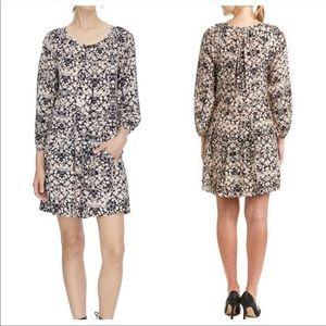 Rebecca Taylor Silk Floral Pleated Dress 2